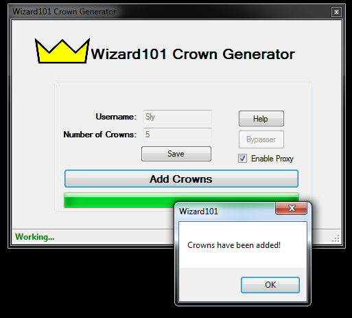 The wizard101 fans